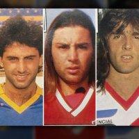 Los looks más exóticos de futbolistas de principios de los 90
