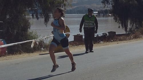 Cocha2018: Argentina, con Inti Guzmán, fue 5ta en el equipo de triatlón