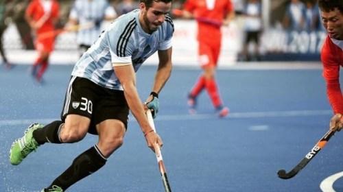 Agustín Bugallo fue titular en la victoria ante Irlanda