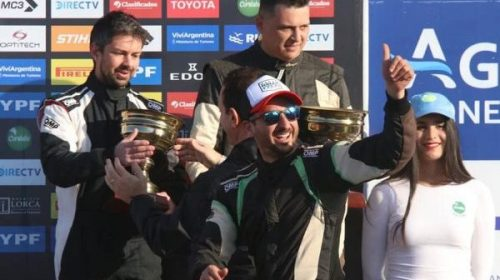 Rally Argentino: Gastón Pastén hizo podio en la Manzana