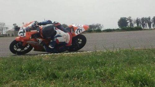 Motociclismo: Juani Rodríguez entre los 10 mejores en Misiones