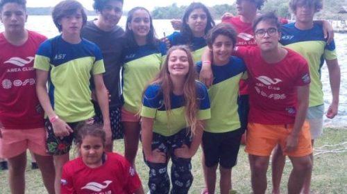 Gran participación y buenos resultados de nadadores sanjuaninos en Copa Paraíso Puntano