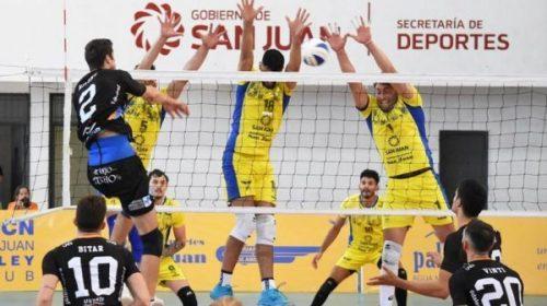 Dos equipos sanjuaninos escoltan la punta de la tabla nacional de Voley