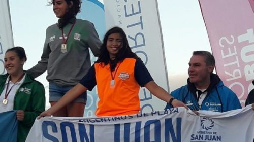 ALMATEUR: El podio de Rosa Mulet en Aguas Abiertas