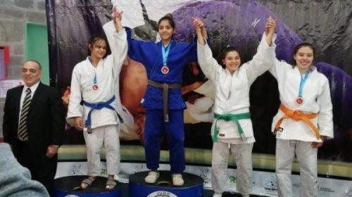 Ornella Gervasoni en lo más alto toma la Copa internacional de Judo Hacoaj Argentina