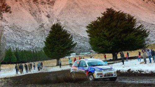 Rally: Sebastián Landa hizo podio en la nieve
