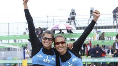 Lima2019: Pereyra jugará por el oro en vóley playa!