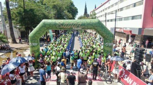 VSJ: Medio millar de personas pedaleó al ritmo de Sagan