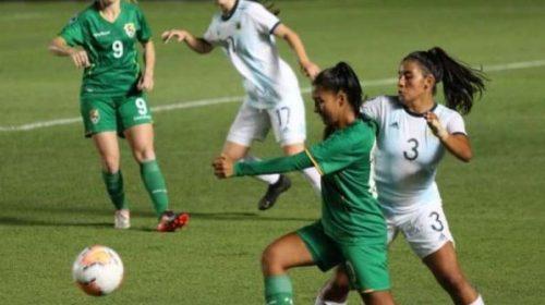 Albiceleste femenina sub 20 empata con Bolivia y es eliminada de Sudamericano.