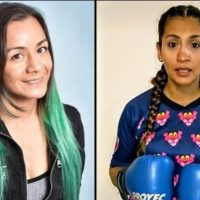 Campeonas mundiales sanjuaninas celebran su Día de la Mujer Boxeadora.