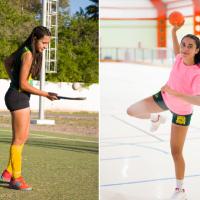 Anabel Barbero, la jugadora de Peñaflor que reparte su pasión en handball y hockey