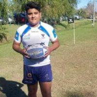 Facundo Díaz y el rugby: del partido en ropa interior al sueño de estar en la selección