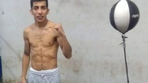 Federico Rodríguez entrena pensando en llegar al Nacional de boxeo