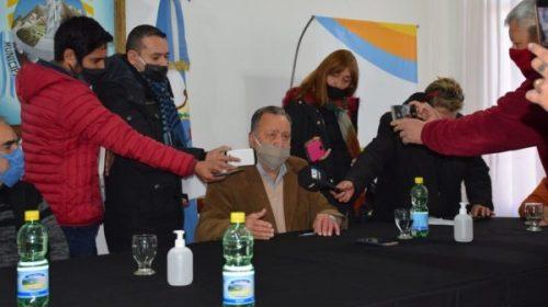 Firman convenio para desarrollar tiro y arquería en Pocito