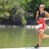 Lucila Robledo, la campeona de triatlón que no podía nadar en aguas turbias