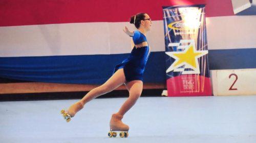 Inclusión en el deporte: Guadalupe Morte, una enamorada del patín artístico