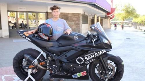 Con 15 años, Facundo Mora debutará en el Superbike de Brasil