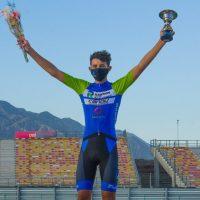El balance de los dos podios en una carrera para el ciclista Leonardo Rodríguez