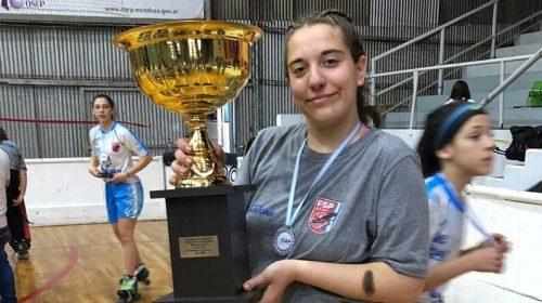 María José Martínez acuna su sueño de llegar al arco de la selección argentina de hockey sobre patines