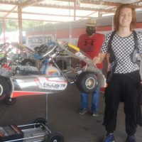 Juan Cruz Roca hace su presentación en la Copa Rotax