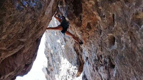 Rosario Graffigna, referente en la escalada deportiva