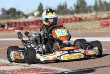 Nico Peralta se adueñó del karting mendocino