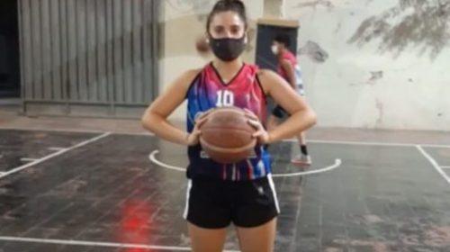 Yamila Camaya, la polifuncional del básquet femenino