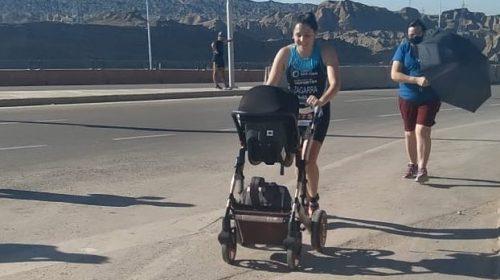"""Ceci Zagarra hizo podio 43 días después de ser mamá: """"Las ganas de correr eran más grandes que el dolor"""""""