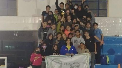 Estupenda actuación de los sanjuaninos en un torneo de natación en Mendoza: Almendro, el club con más puntos
