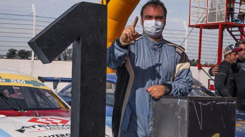 Ariel Persia se pierde la tercera fecha del Top Race Series por contagiarse de coronavirus
