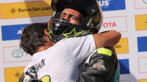 Matías Soto, las motos y su soporte vital: la familia