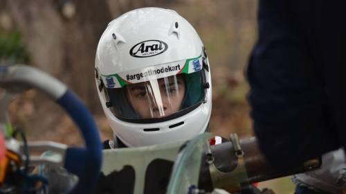 Naranjo, con motores rugiendo para la IAME Series Argentina en Buenos Aires