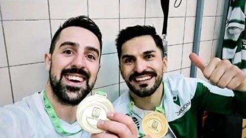 Matías Platero y Gonzalo Romero se consagraron campeones de Europa con el Sporting Lisboa