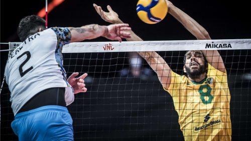 Los 16 puntos de Federico Pereyra no alcanzaron y Argentina cayó ante el poderoso Brasil