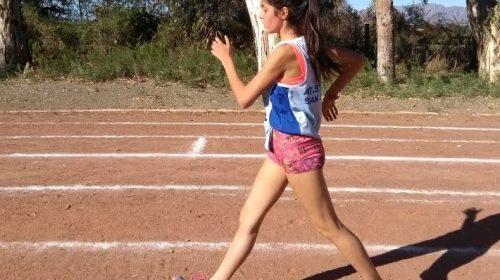 Cecilia García, una caucetera con gran proyección nacional en marcha atlética