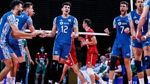 Bruno Lima fue la carta ganadora de Argentina ante Bulgaria