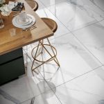 Purity Gold Polished White Marble Floor And Wall Tile