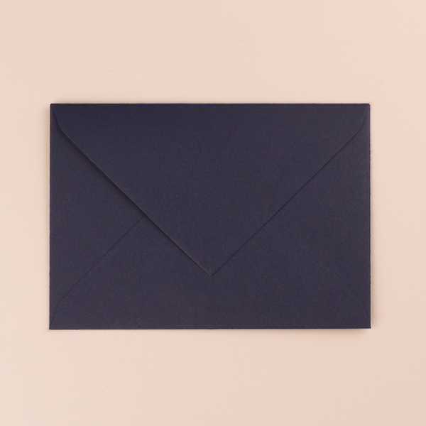 enveloppe bleue marine faire parts