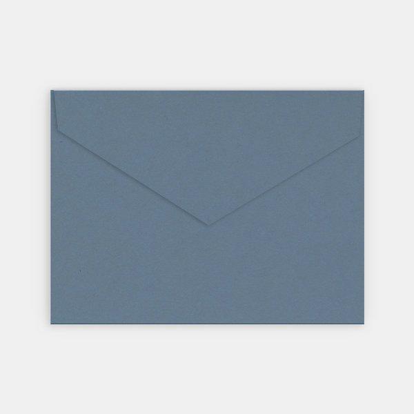 Enveloppe bleu jean