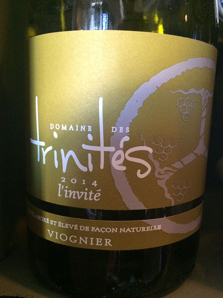 Domaine des Trinités - l'Invité - 2014 - Blanc