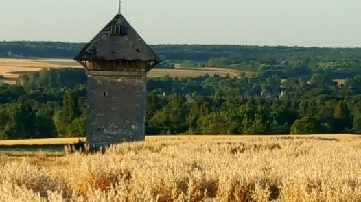 Vue de Parcay-sur-Vienne