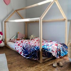"Lit Cabane Montessori ""Grand Bambin"" 90×190"
