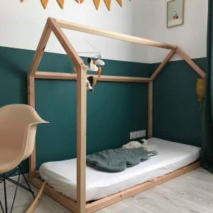 "Lit Cabane Montessori ""Mini Bambin"" 70×140"