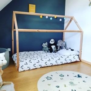 """Lit Cabane Montessori """"Petit Bambin"""" 70×160"""