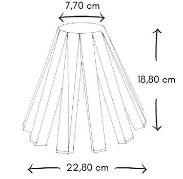 dimensions veilleuse