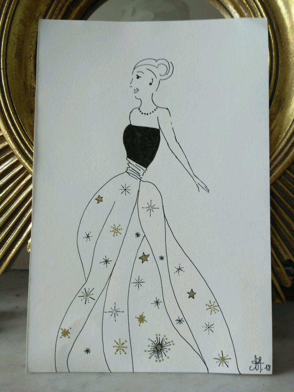 Inktober-la-robe-couleur-des-étoiles