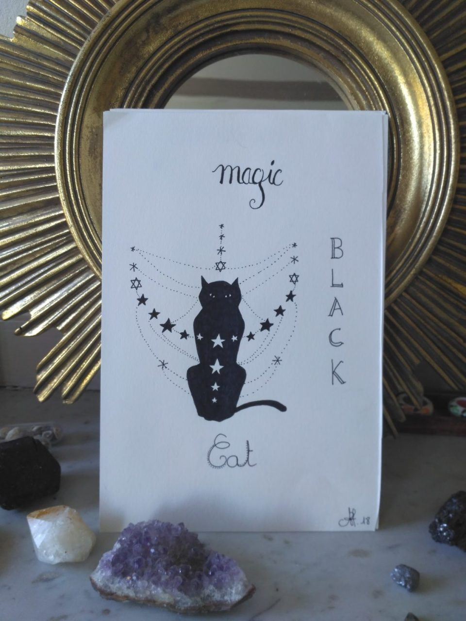Magic-black-cat