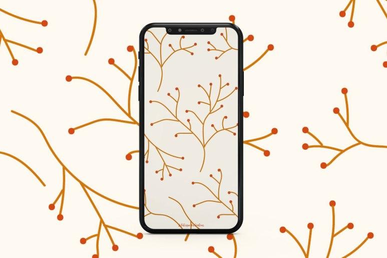 fond-decran-branchage-octobre-smartphone