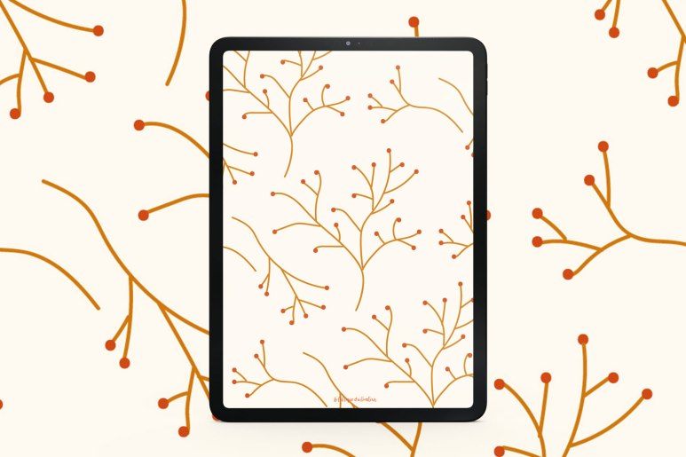 fond-decran-branchage-octobre-tablette