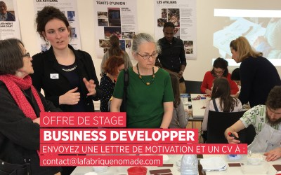 OFFRE DE STAGE : BUSINESS DEVELOPPER